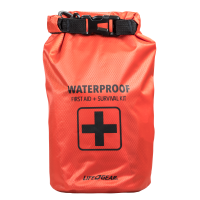 130PC DRY BAG FIRST AID SURVIVAL KIT