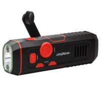 STORMPROOF CRANK RADIO LIGHT
