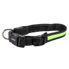 Night Walker Glow LED USB Rechargeable Pet Collar Large Green