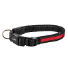 Night Walker Glow LED USB Rechargeable Pet Collar Small Red