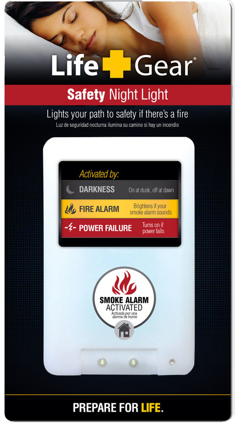 Fire Safety Night Light